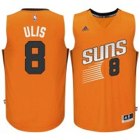 Men's Phoenix Suns #8 Tyler Ulis adidas Orange Swingman Alternate Jersey