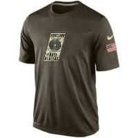Men's Portland Trail Blazers Salute To Service Nike Dri-FIT T-Shirt