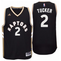 Men's Toronto Raptors #2 P. J. Tucker adidas Black Player Swingman OVO Jersey