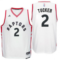 Men's Toronto Raptors #2 P. J. Tucker adidas White Player Swingman Home Jersey