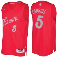 Men's Toronto Raptors #5 DeMarre Carroll Red 2016-2017 Christmas Day NBA Swingman Jersey