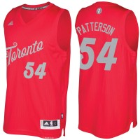 Men's Toronto Raptors #54 Patrick Patterson Red 2016-2017 Christmas Day NBA Swingman Jersey