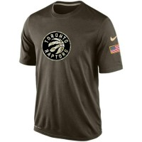 Men's Toronto Raptors Salute To Service Nike Dri-FIT T-Shirt