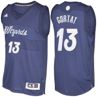 Men's Washington Wizards #13 Marcin Gortat Navy Blue 2016-2017 Christmas Day NBA Swingman Jersey