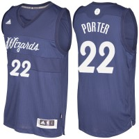 Men's Washington Wizards #22 Otto Porter Navy Blue 2016-2017 Christmas Day NBA Swingman Jersey