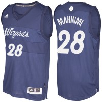 Men's Washington Wizards #28 Ian Mahinmi Navy Blue 2016-2017 Christmas Day NBA Swingman Jersey