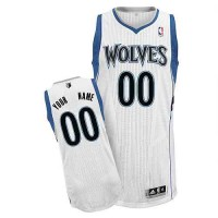 Minnesota Timberwolves Customized White Home Jersey