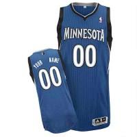 Minnesota Timberwolves Customized White Road Jersey