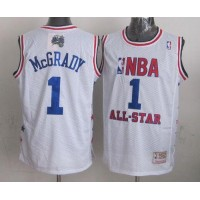 Mitchell And Ness Magic #1 Tracy Mcgrady White 2003 All Star Stitched NBA Jersey
