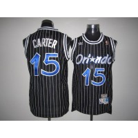 Mitchell And Ness Magic #15 Vince Carter Stitched Black Throwback NBA Jersey