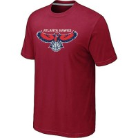 NBA Atlanta Hawks Big & Tall Primary Logo T-Shirt Red