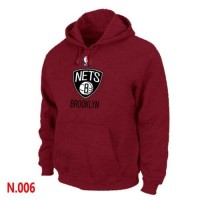 NBA Brooklyn Nets Pullover Hoodie Red