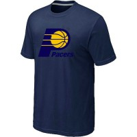 NBA Indiana Pacers Big & Tall Primary Logo T-Shirt Dark Blue