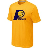 NBA Indiana Pacers Big & Tall Primary Logo T-Shirt Yellow