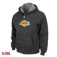 NBA Los Angeles Lakers Pullover Hoodie Dark Grey