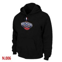 NBA New Orleans Pelican Pullover Hoodie Black