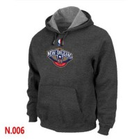 NBA New Orleans Pelican Pullover Hoodie Dark Grey