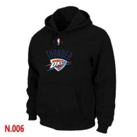 NBA Oklahoma City Thunder Pullover Hoodie Black