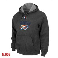 NBA Oklahoma City Thunder Pullover Hoodie Dark Grey