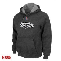 NBA San Antonio Spurs Pullover Hoodie Dark Grey