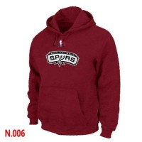 NBA San Antonio Spurs Pullover Hoodie Red