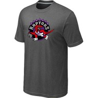 NBA Toronto Raptors Big & Tall Primary Logo T-Shirt Dark Grey
