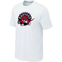 NBA Toronto Raptors Big & Tall Primary Logo T-Shirt White