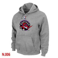 NBA Toronto Raptors Pullover Hoodie Light Grey
