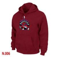 NBA Toronto Raptors Pullover Hoodie Red