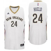New Orleans Pelicans #24 Buddy Heild Home White New Swingman Jersey