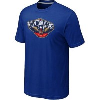 New Orleans Pelicans Big & Tall Primary Logo T-Shirt Blue