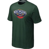 New Orleans Pelicans Big & Tall Primary Logo T-Shirt Dark Green