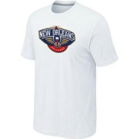 New Orleans Pelicans Big & Tall Primary Logo T-Shirt White