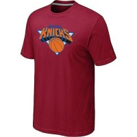 New York Knicks Big & Tall Primary Logo T-Shirt Red