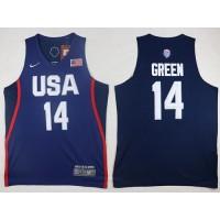 Nike Team USA #14 Draymond Green Navy Blue 2016 Dream Team Stitched NBA Jersey