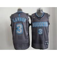 Nuggets #3 Ty Lawson Black Rhythm Fashion Stitched NBA Jersey
