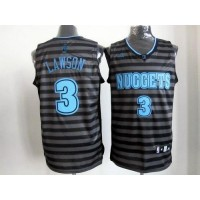 Nuggets #3 Ty Lawson BlackGrey Groove Stitched NBA Jersey