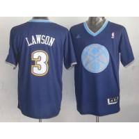 Nuggets #3 Ty Lawson Dark Blue 2013 Christmas Day Swingman Stitched NBA Jersey