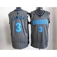 Nuggets #3 Ty Lawson Grey Static Fashion Stitched NBA Jersey