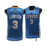 Nuggets #3 Ty Lawson Stitched Baby Blue NBA Jersey