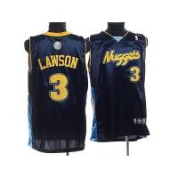 Nuggets #3 Ty Lawson Stitched Dark Blue NBA Jersey