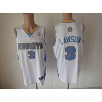 Nuggets #3 Ty Lawson White Revolution 30 Stitched NBA Jersey