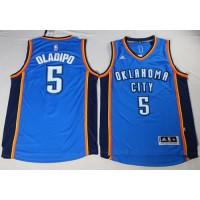 Oklahoma City Thunder #5 Victor Oladipo Blue Stitched NBA Jersey