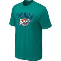 Oklahoma City Thunder Big & Tall Primary Logo Teal Green NBA T-Shirts