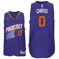 Phoenix Suns #0 Marquese Chriss Road Purple Swingman Jersey