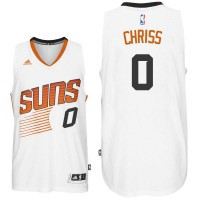 Phoenix Suns #0 Marquese Chriss White Home Swingman Jersey