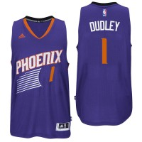 Phoenix Suns #1 Jared Dudley 2016 Road Purple New Swingman Jersey