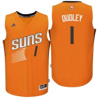Phoenix Suns #1 Jared Dudley Alternate Orange New Swingman Jersey