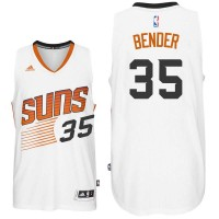 Phoenix Suns #35 Dragan Bender Home White Swingman Jersey
