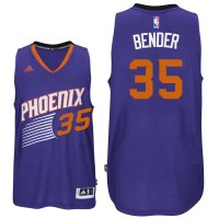 Phoenix Suns #35 Dragan Bender Road Purple Swingman Jersey